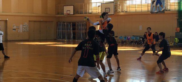 ハンドボール祭(2016/11/13)– 平和中学校 –