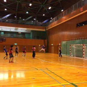 ハンドボール練習試合(2016/11/26)–知立福祉体育館 –