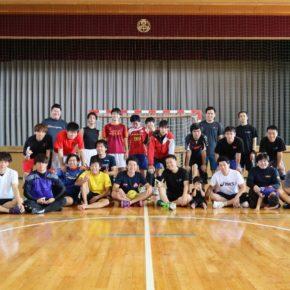 ハンドボール1日練習試合(2018/10/14)– 稲沢西中学校 –
