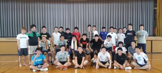 ハンドボール1日練習試合(2016/5/22)– 稲沢西中学校 –