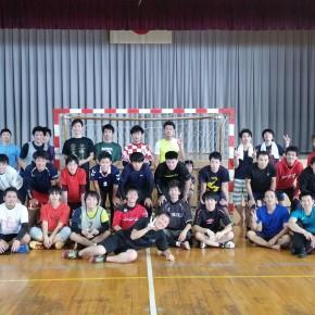 ハンドボール1日練習試合(2016/10/18)– 稲沢西中学校 –