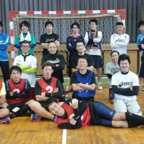 ハンドボール1日練習試合(2016/11/19)– 稲沢西中学校 –