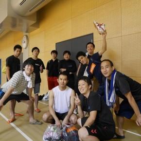 秋季一宮市民ハンドボール大会・7位/16チーム!(2016/9/10)– 一宮総合体育館 –