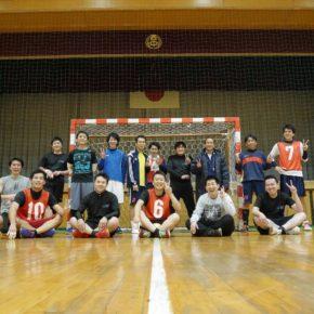 忘年会と紅白戦(2016/12/17,18)–金山、稲西中学校 –