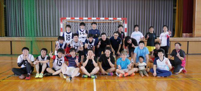 ハンドボール1日練習試合(2017/5/21)– 稲沢西中学校 –